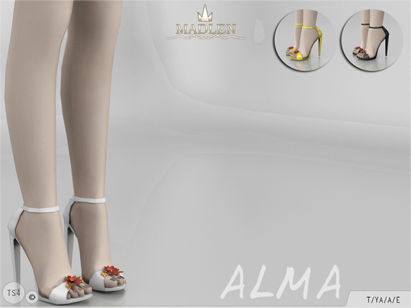 Sims 4 Madlen Alma Shoes by MJ95 at TSR