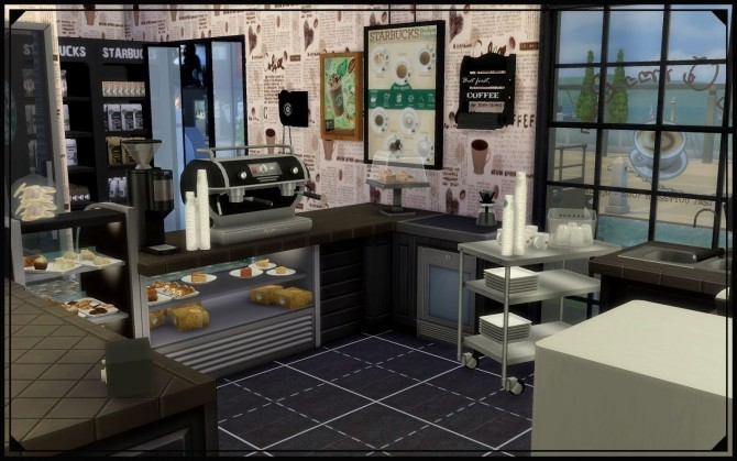 Sims 4 Seafront cafe at Nagvalmi