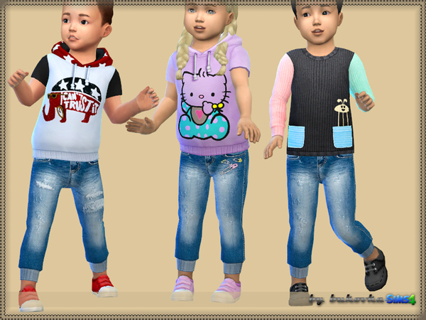 Pants Denim fm by bukovka at TSR image 4216 Sims 4 Updates