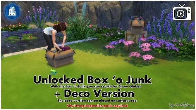 Sims 4 Unlocked Box o Junk + Deco by Bakie at Mod The Sims