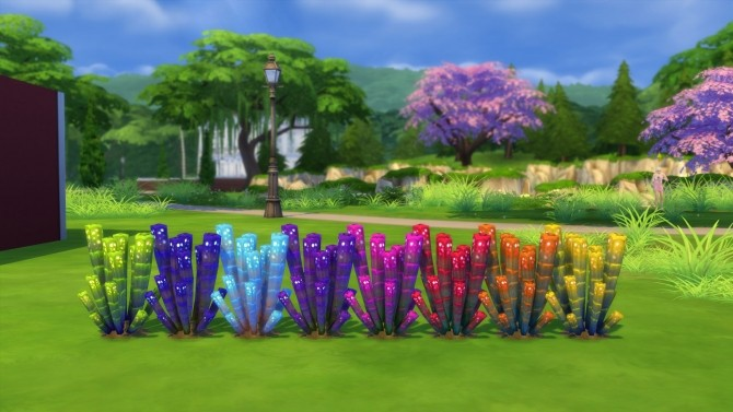 Sims 4 Rainbow Orb Plant by Snowhaze at Mod The Sims