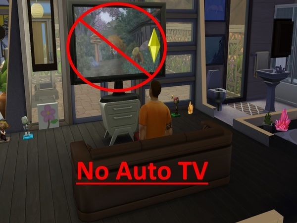No Autonomous TV by mummy1969 at TSR image 440 Sims 4 Updates