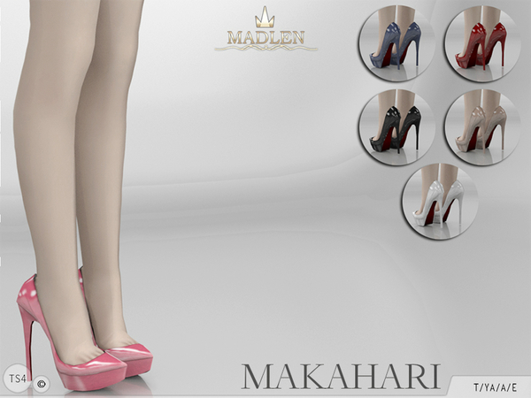 Madlen Makahari Shoes by MJ95 at TSR image 4511 Sims 4 Updates