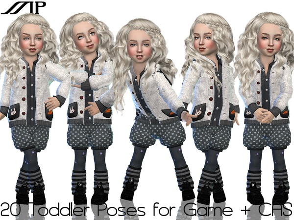 ToddlerSet N1 poses by MartyP at TSR image 4614 Sims 4 Updates
