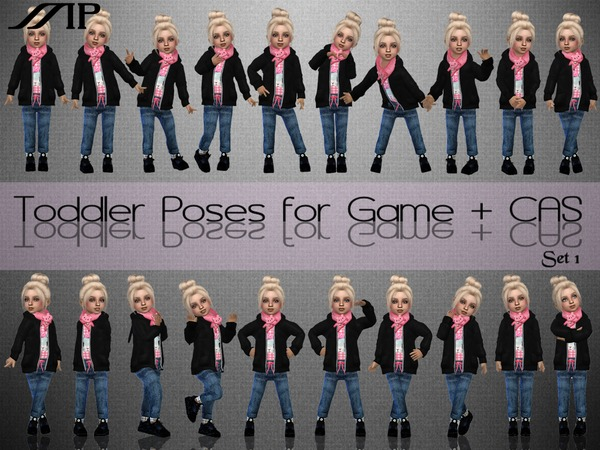 ToddlerSet N1 poses by MartyP at TSR image 4714 Sims 4 Updates