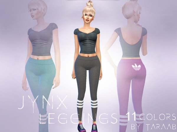 Jynx Leggings by taraab at TSR image 4810 Sims 4 Updates