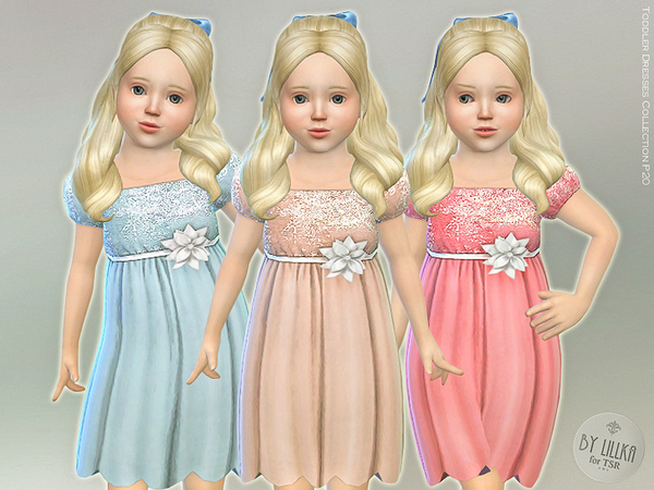Sims 4 Toddler Dresses Collection P20 by lillka at TSR