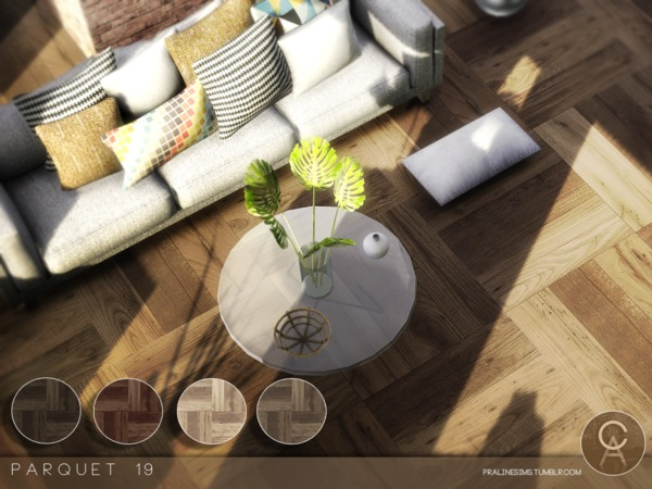 Sims 4 Parquet 19 by Pralinesims at TSR