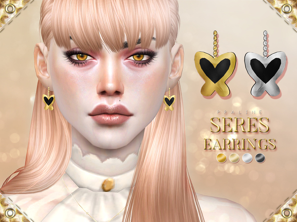 Seres Earrings by Pralinesims at TSR image 5015 Sims 4 Updates