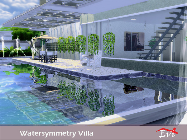 Watersymmetry villa by evi at TSR image 5119 Sims 4 Updates