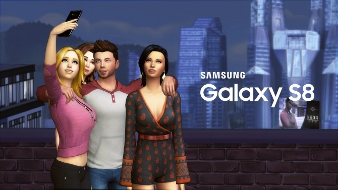 Samsung GALAXY S8 by littledica at Mod The Sims image 515 670x377 Sims 4 Updates