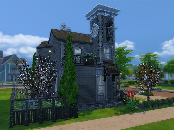 Gothic Cottage by Ineliz at TSR image 5314 Sims 4 Updates