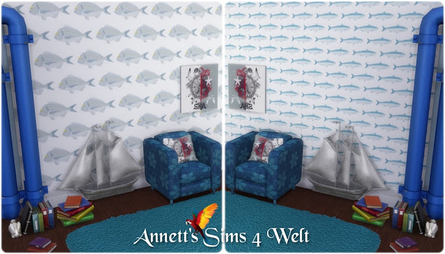 Fish wallpapers at Annett's Sims 4 Welt image 536 Sims 4 Updates