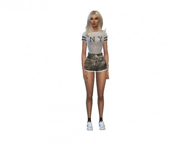 Sims 4 Arabella Silver at PortugueseSimmer