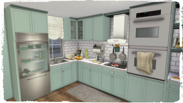 Kitchen with Laundry at Dinha Gamer image 5416 Sims 4 Updates