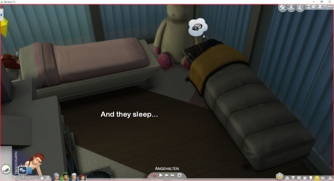 Sims 4 Send Sims to Bed by LittleMsSam