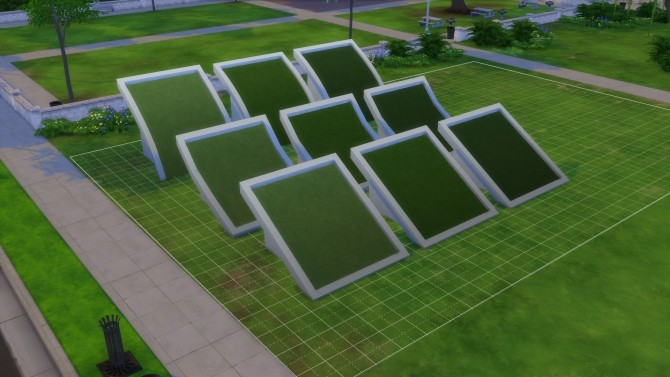 Grass Roof Texture 3 shades by Mastertiti at Mod The Sims image 565 670x377 Sims 4 Updates