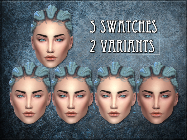R skin 7 FEMALE OVERLAY by RemusSirion at TSR image 570 Sims 4 Updates