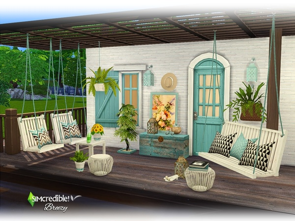 Breezy patio by SIMcredible at TSR image 5710 Sims 4 Updates