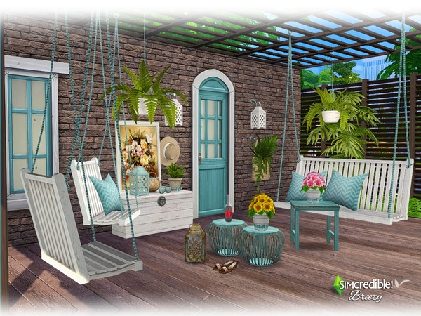 Breezy patio by SIMcredible at TSR image 5910 Sims 4 Updates