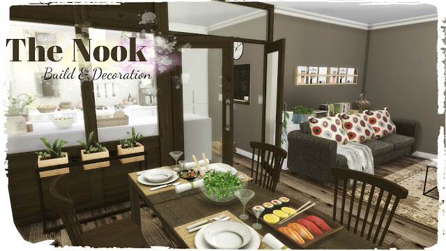 The Nook Build & Decoration at Dinha Gamer image 598 Sims 4 Updates