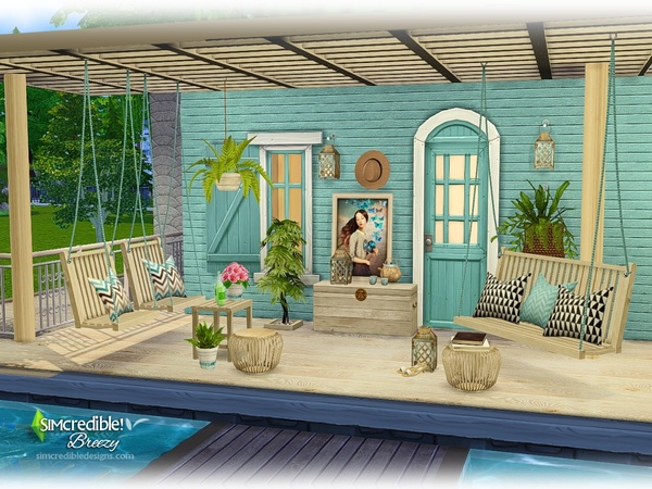 Breezy patio by SIMcredible at TSR image 609 Sims 4 Updates