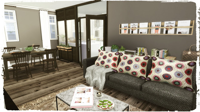 Sims 4 The Nook Build & Decoration at Dinha Gamer