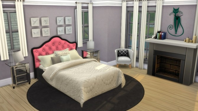 Bed Headboard Unnaturals at Enure Sims image 6118 670x377 Sims 4 Updates