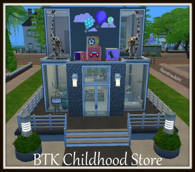 BTK Childhood Store by starstrucksh at Mod The Sims image 6313 670x589 Sims 4 Updates