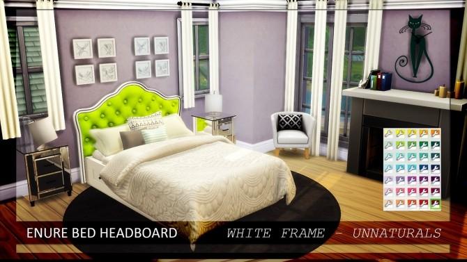 Sims 4 Bed Headboard Unnaturals at Enure Sims
