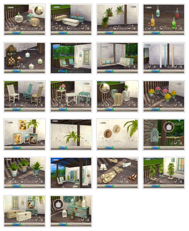 Breezy patio by SIMcredible at TSR image 639 Sims 4 Updates