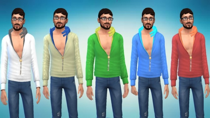 Light Jacket Conversion From Sims 3 University Life by novalpangestik at Mod The Sims image 645 670x377 Sims 4 Updates