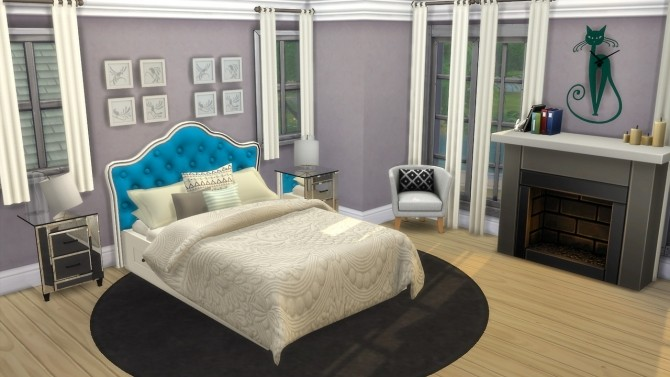 Bed Headboard Unnaturals at Enure Sims image 6514 670x377 Sims 4 Updates