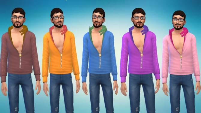 Light Jacket Conversion From Sims 3 University Life by novalpangestik at Mod The Sims image 655 670x377 Sims 4 Updates