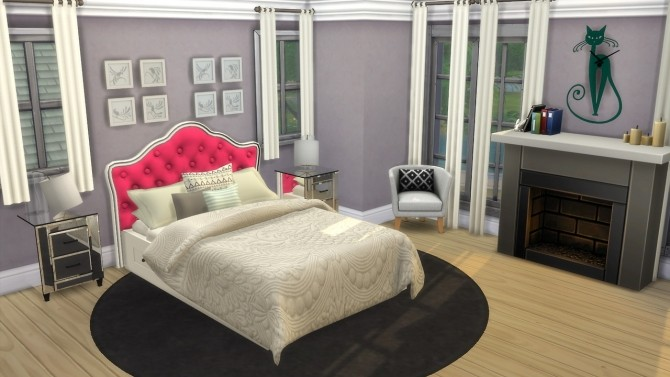 Bed Headboard Unnaturals at Enure Sims image 6615 670x377 Sims 4 Updates