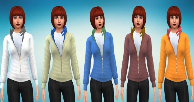Light Jacket Conversion From Sims 3 University Life by novalpangestik at Mod The Sims image 665 670x353 Sims 4 Updates