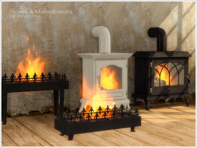 Stoves & Mantelpieces at Sims by Severinka image 6714 670x505 Sims 4 Updates
