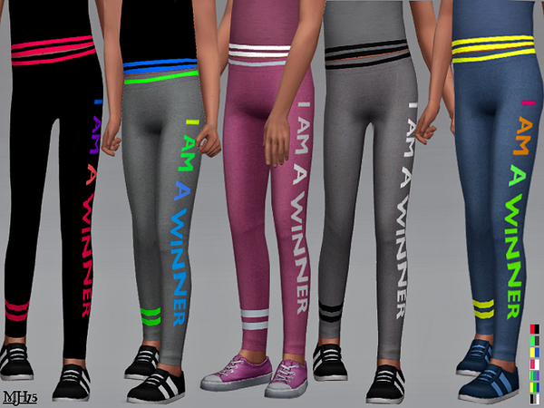 Sport Leggings Child by Margeh 75 at TSR image 679 Sims 4 Updates