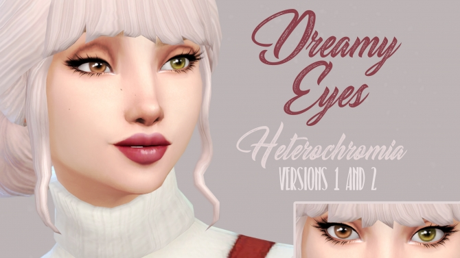 Heterochromia Dreamy Eyes By Kellyhb5 At Mod The Sims