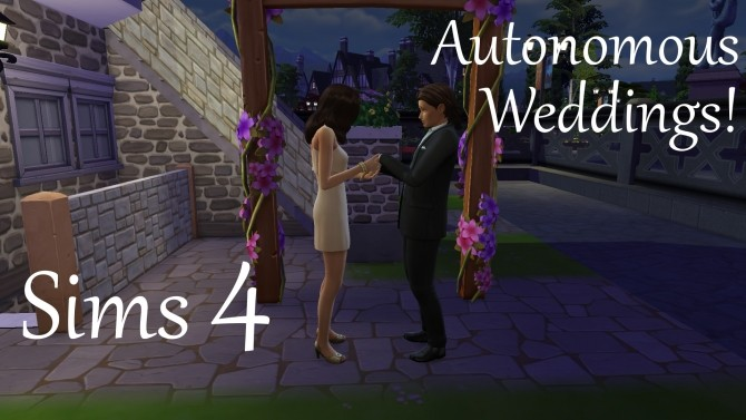 Autonomous Weddings by PolarBearSims at Mod The Sims image 6814 670x377 Sims 4 Updates