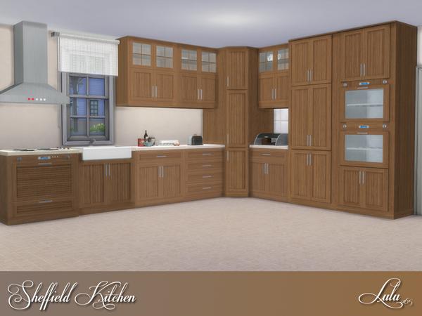 Sheffield Kitchen by Lulu265 at TSR image 6910 Sims 4 Updates