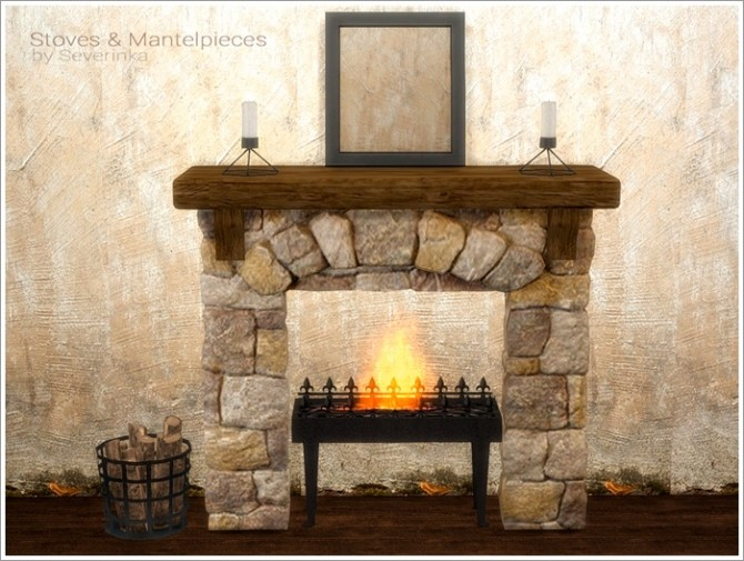 Stoves & Mantelpieces at Sims by Severinka image 6915 670x505 Sims 4 Updates