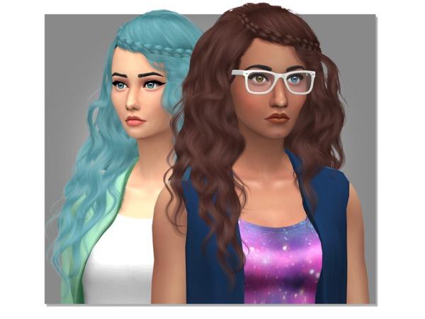 Sims 4 Stealthics Genesis Hair Retexture by Eenhoorntje at TSR
