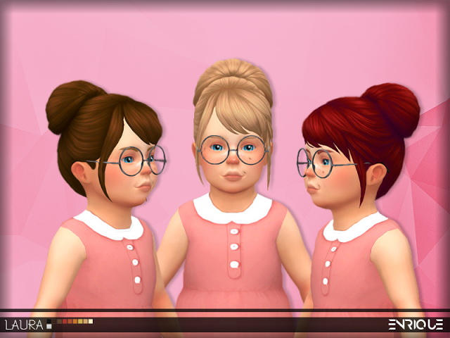 Laura Hair Toddler At Enriques4 187 Sims 4 Updates