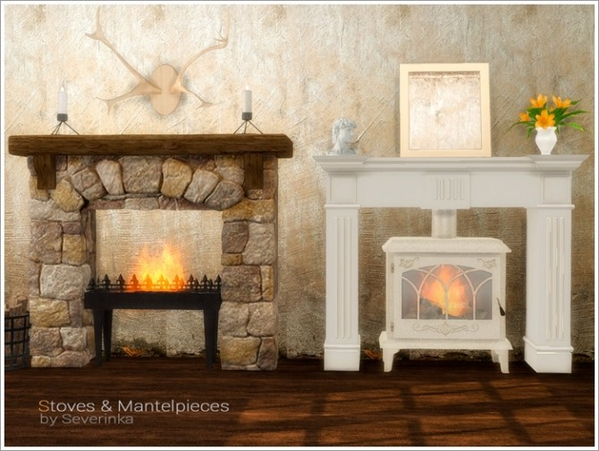Stoves & Mantelpieces at Sims by Severinka image 7119 670x505 Sims 4 Updates