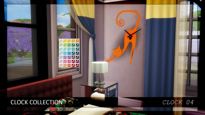 Sims 4 Conversions: clocks, limousine and bed at Enure Sims