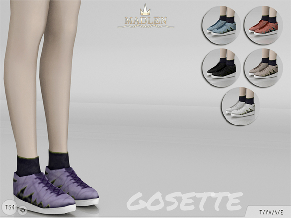 Madlen Gosette Shoes by MJ95 at TSR image 720 Sims 4 Updates