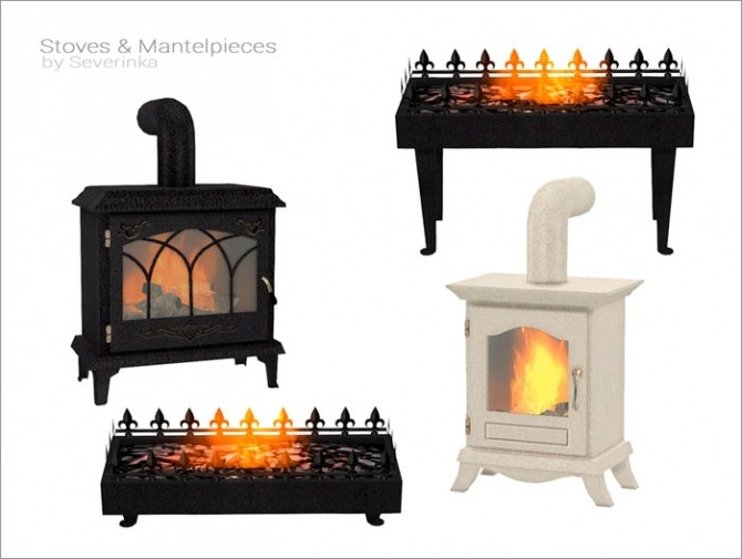 Stoves & Mantelpieces at Sims by Severinka image 7216 670x505 Sims 4 Updates