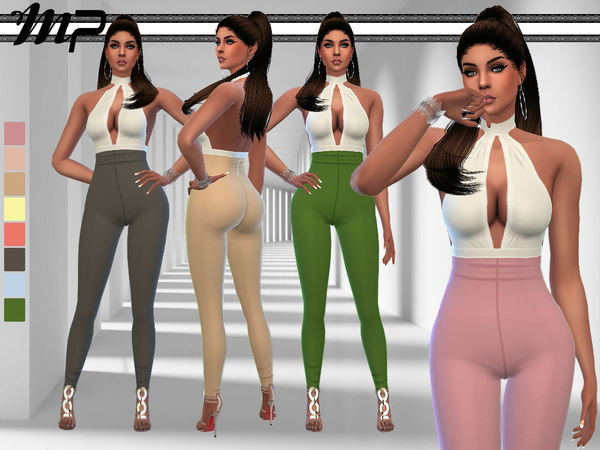 MP Julia`s Jumpsuit by MartyP at TSR image 7310 Sims 4 Updates