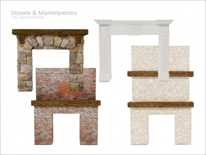 Stoves & Mantelpieces at Sims by Severinka image 7313 670x505 Sims 4 Updates
